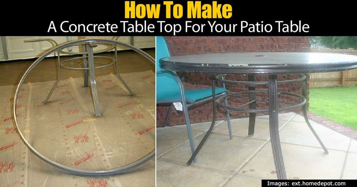 Glass Concrete Patio : Best ideas about glass table top replacement on