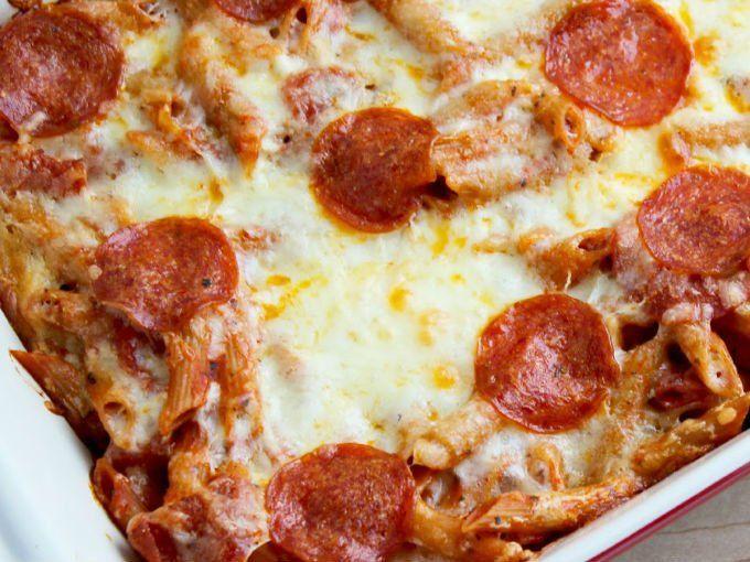 Pizza en un tazón