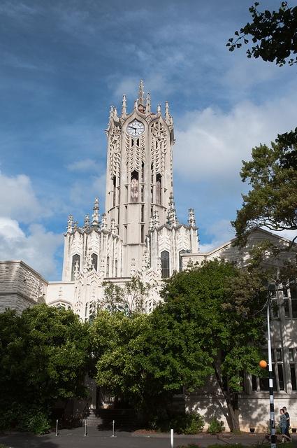 The University of Auckland, California