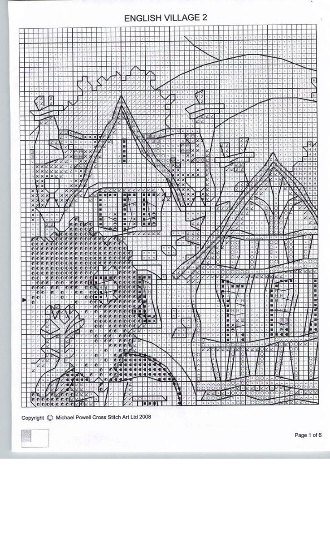 4696 besten Κεντημένα σπίτια Bilder auf Pinterest | Kreuzstich ...