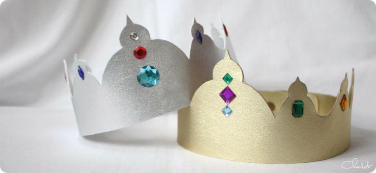 couronne des rois simili cuir