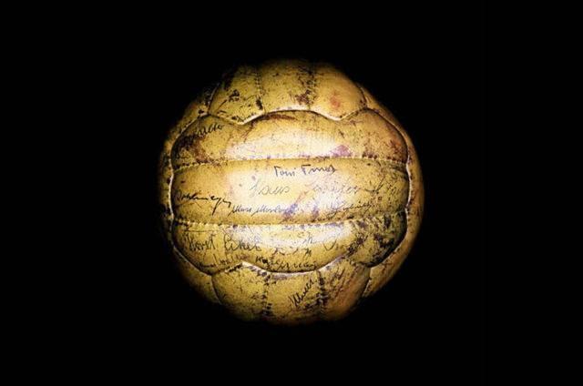 Balón utilizado durante el mundial de Suiza 1954