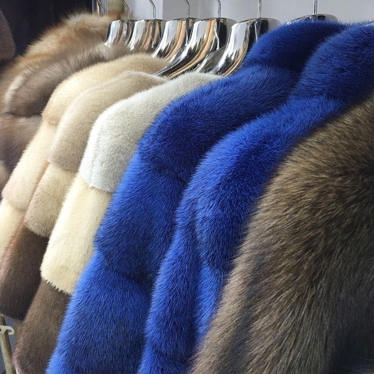 Fur Jacket,Blue Jacket,Short Fur Jacket,Blue Fur,Real Fur Coat 💙