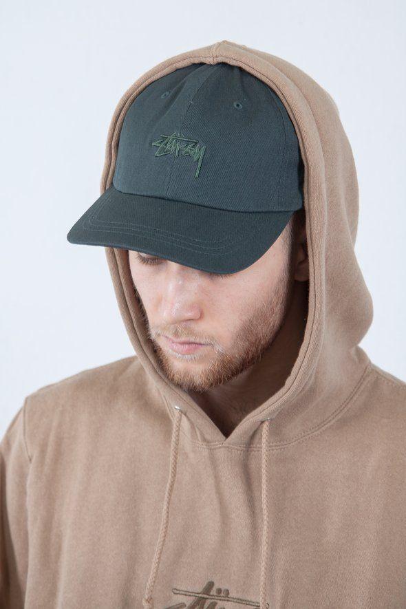 Stüssy - Tonal Stock Low Cap, stussy, , curve, cap, hat, blue, trend, style, fashion, 2017, hat, blue, outfit, logo, black, accessories, orange, low,