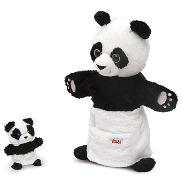 Trudi Handpop Panda met Baby