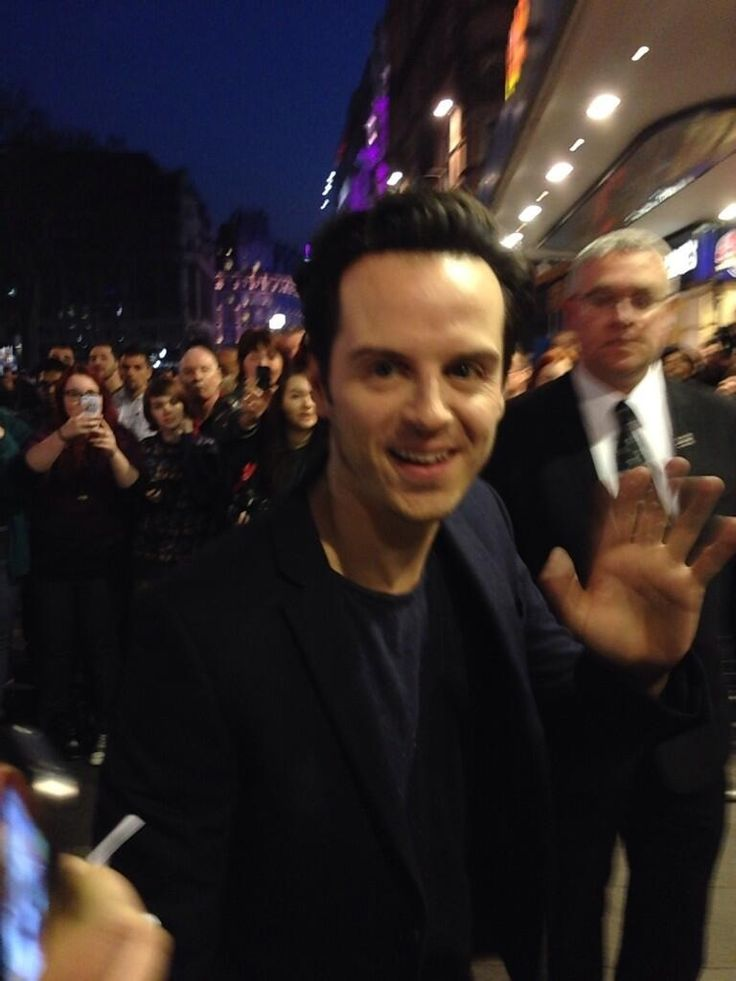 Andrew Scott at the London premier of The Stag film
