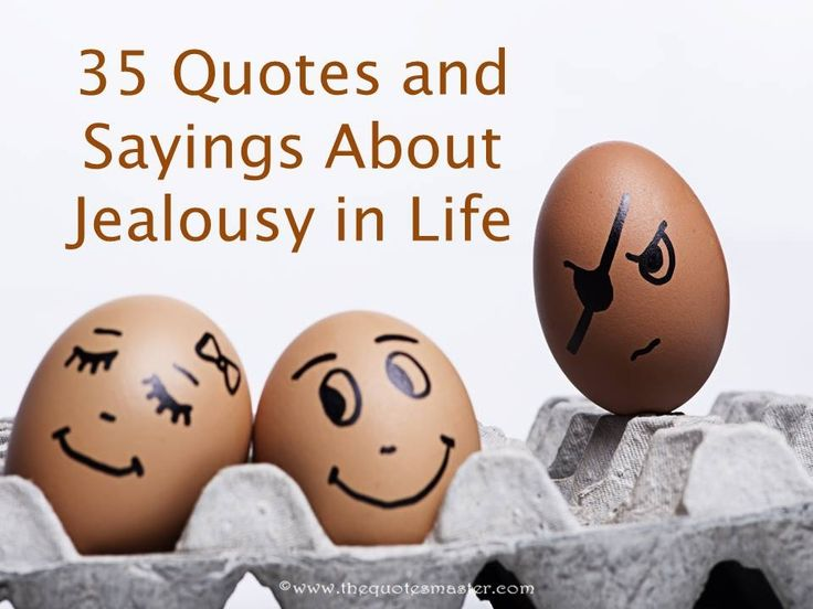 Compilation of best quotes and sayings about jealousy in life.