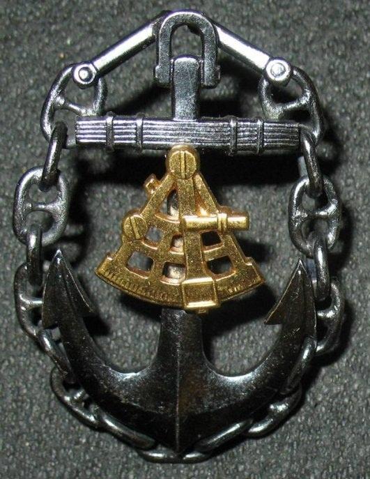 """Master"" Captain Badge, Merchant Fleet, USSR"