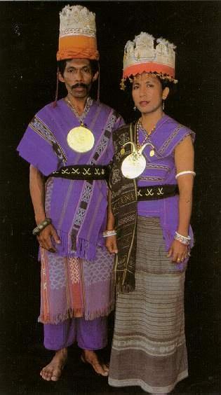 traditional Maluku dress