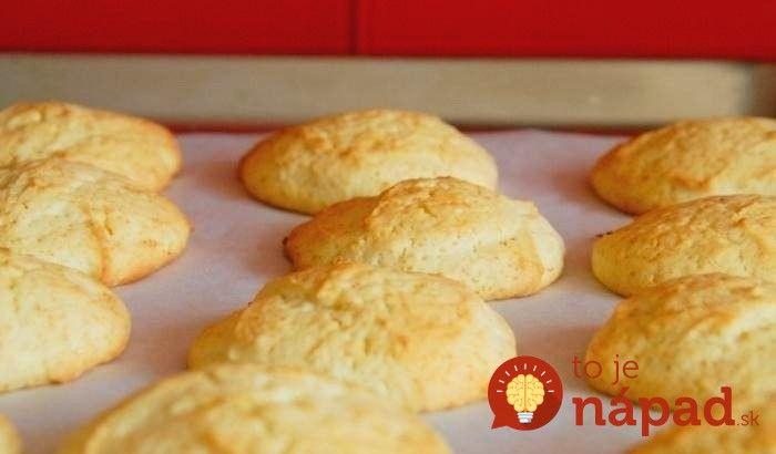 Citronove cookies (tvaroh, vlocky)