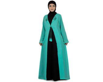 Shaista elegante del partido Abaya / Jilbab AY239 por MyBatua
