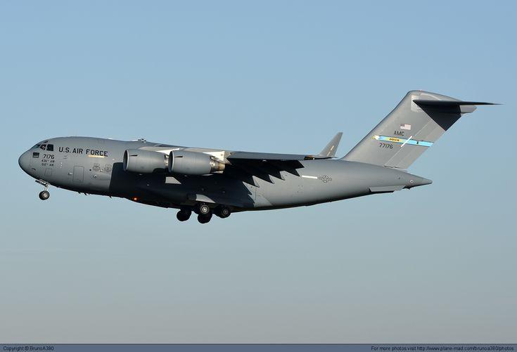 USA - Air Mobiliti Command Boeing C-17 Globemaster III 77176 at Paris Orly