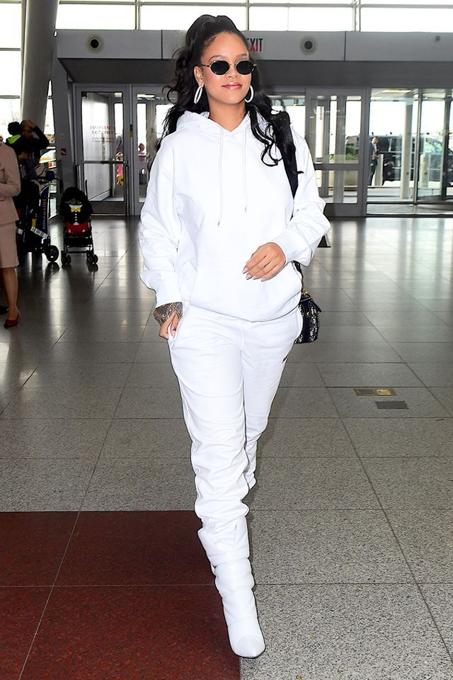 247a6c48ebdc Marshmallow Boots  Rihanna s New Go-To Airport Shoes