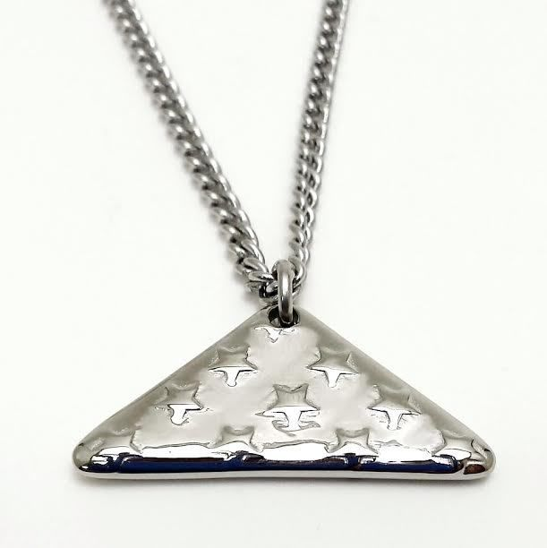 Shields of Strength - Stainless Steel Mens Folded Flag Necklace-John 15:13, $69.99 (http://www.shieldsofstrength.com/stainless-steel-mens-folded-flag-necklace-john-15-13/)