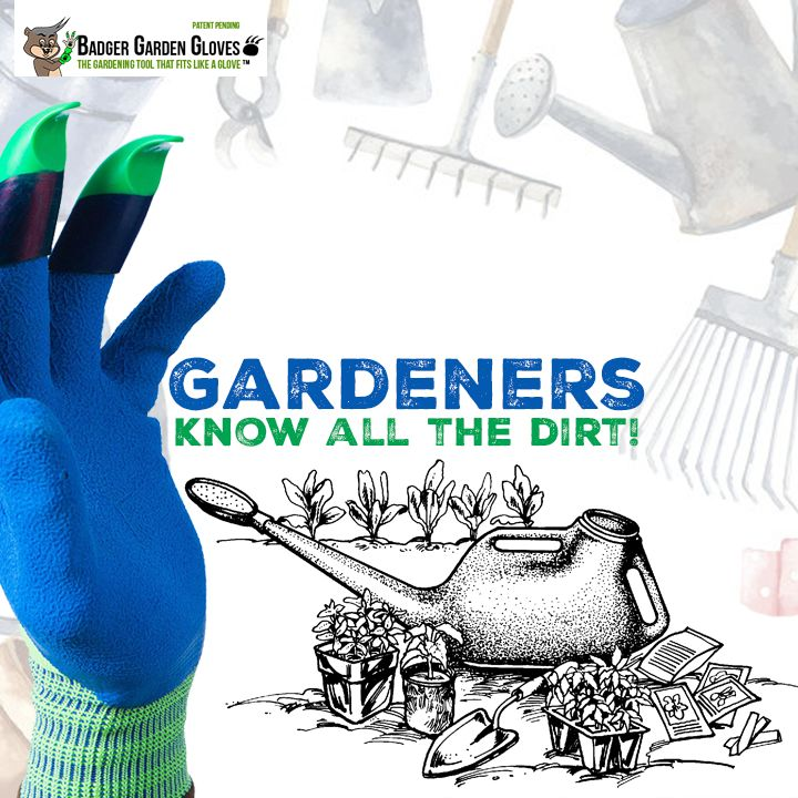 Honey Badger Gloves| Making life easier in the garden by applying technology to traditional gardening gloves. #GardenTools #GardeningLove