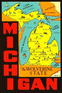 Michigan… the Wolverine State