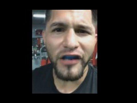 MMA UFC 211: Jorge Masvidal training for Demian Maia