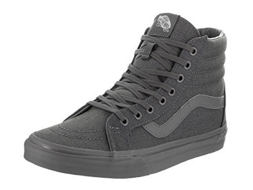 f50a2c45e30458 Vans Unisex Sk8Hi Reissue Mono Chambray GrayGray Skate Shoe 45 Men US 6  Women US    Click image to review more details. (This is an affiliate link)    ...