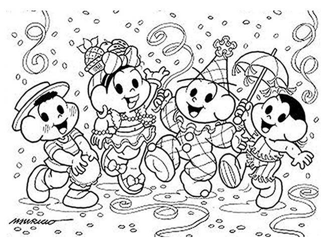 Imprimir Desenhos De Carnaval Em 2020 Desenhos De Carnaval