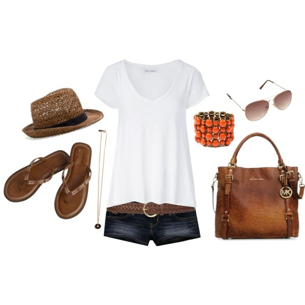 casualCasual Outfit, Summer Looks, Casual Summer, Summer Outfit, Summer Style, White Shirts, Living Room, Summertime Outfit, Jeans Shorts