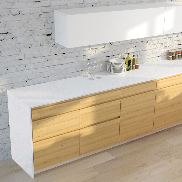Arizona Tile Vanilla Quartz Slab Has A Natural Quartz Surface, Color  Controlled Quartz Is Blended Together With Technologically Advanced Polymers .