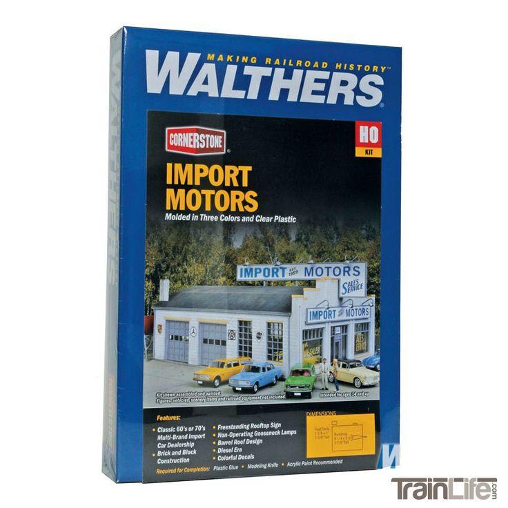 HO Scale: Import Motors - Kit