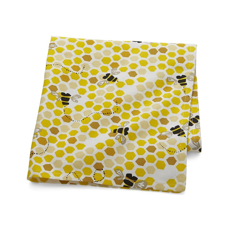 Bumble Bee Dish Towel In Kitchen Linens