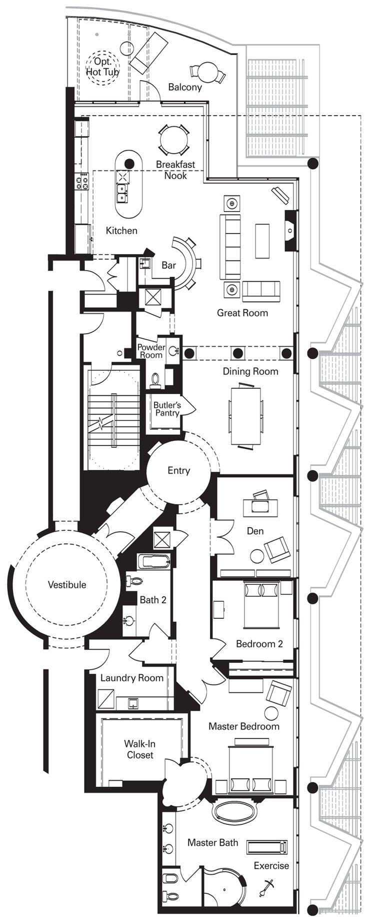 penthouses for sale floor plans