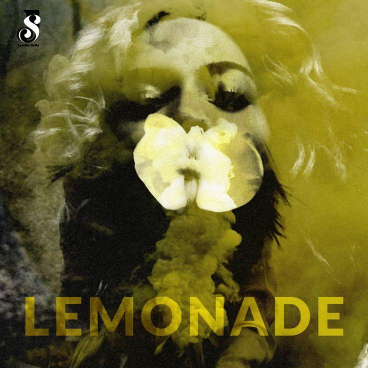 Lemonade Beyoncé Spotify playlist cover by Jyotika Sofia