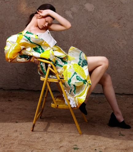 """""""Pattern Play"""" Kelly Mittendorf by Kerry Dean for Vogue Turkey April 2015"""