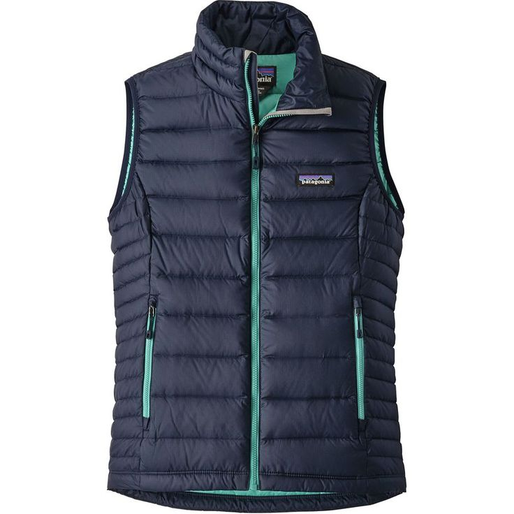 Patagonia - Down Sweater Vest - Women's - Navy Blue/Strait Blue