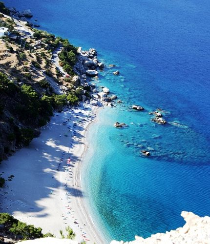 Been there!  Karpathos, Greece.  Oppa!