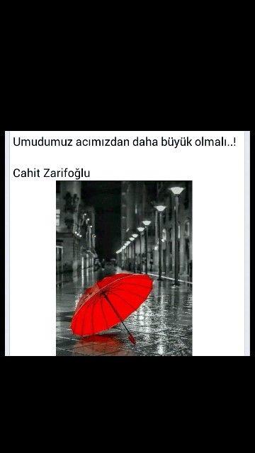 Umdumuz acımızdan büyük olmalı Cahit Zarifoğlu