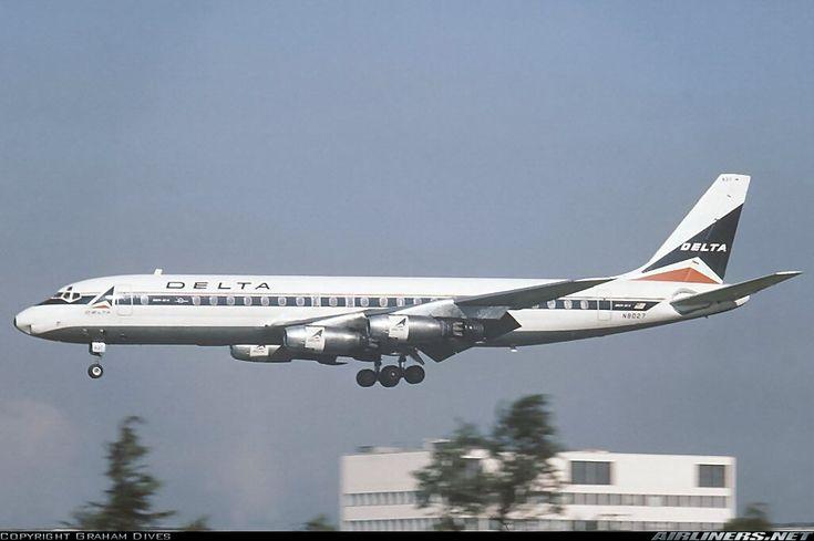 Douglas DC-8-33 - Delta Air Lines