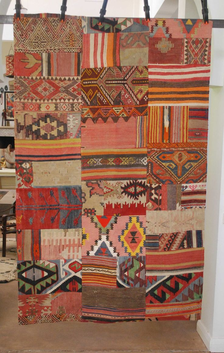 Create Some Bohemian Design Ideas With This Patchwork Kilim Turkish Rug Is Made From Stani Afghan And Persian Rugs
