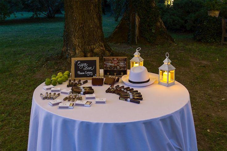 Cigar bar idea intrattenimento ospiti matrimonio