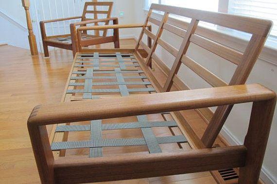 Mid Century Teak Sofa Frame by DanishGarage on Etsy, $995.00