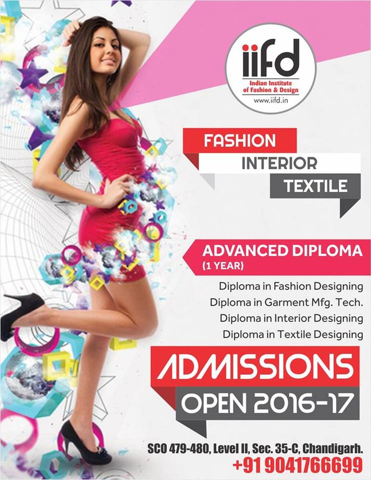 For Admission Process Call 91 9041766699 OR Visit Iifdin Iifd Best Fashion Designing Institute Chandigarh Mohali Punjab Design