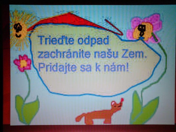 Školský klub detí: DEŇ ZEME