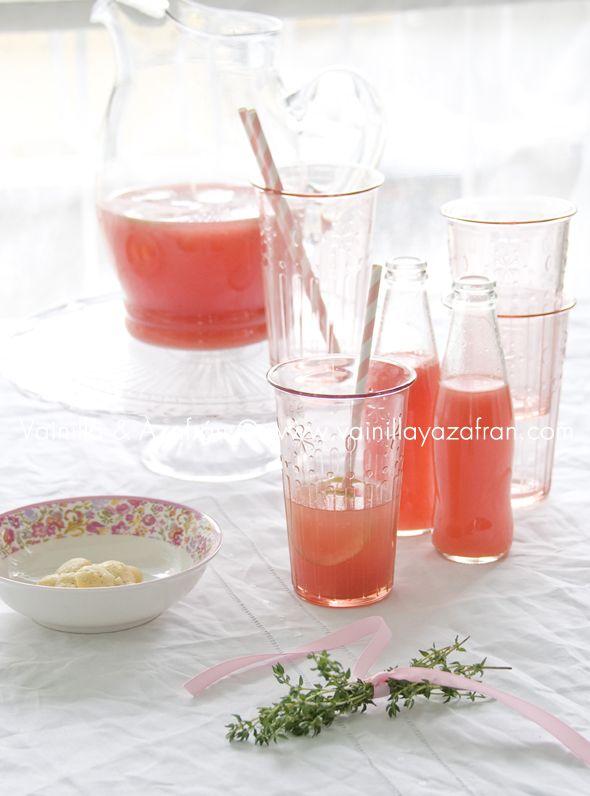 Limonada rosada/ Pink lemonade