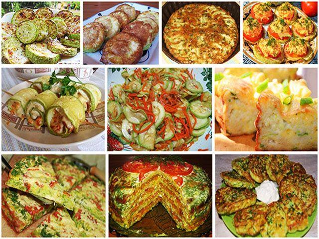 Безумно вкусно-нежный пирог с зеленым луком, курицей и сырной корочкой.: Подборка 10 рецептов с кабачками.