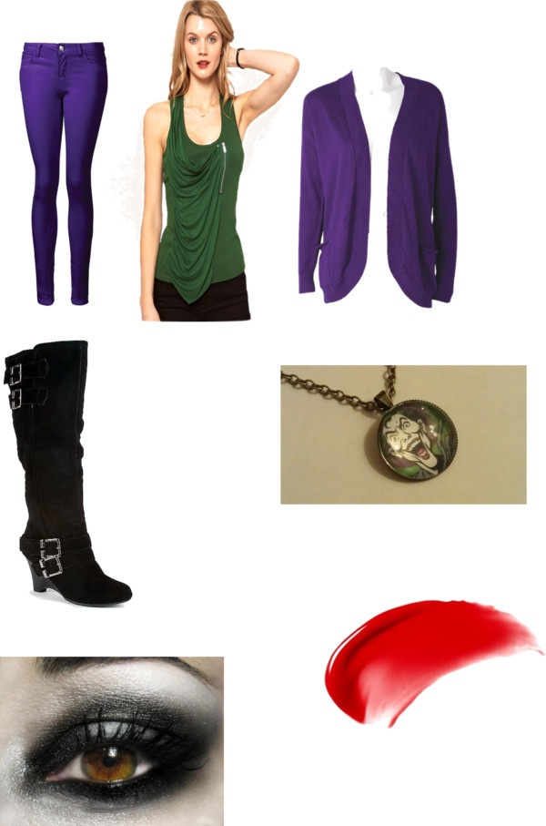"""Female Joker"" by alyssa-cherie on Polyvore"