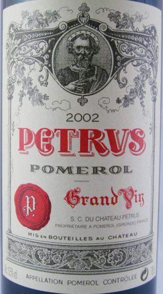 2002 Pétrus