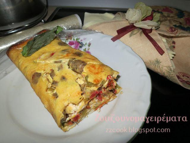Ζουζουνομαγειρέματα: Ομελέτα φούρνου σπέσιαλ!!!