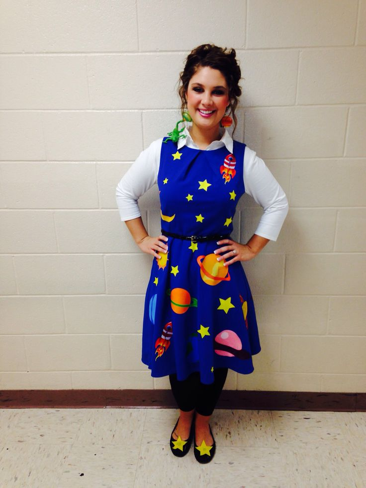 Miss Frizzle costume.                                                                                                                                                     More