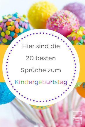 Du Bist Auf Der Suche Nach Lustigen Oder Lieben Sprüche Für Deine Kleinen  Zum Geburtstag?