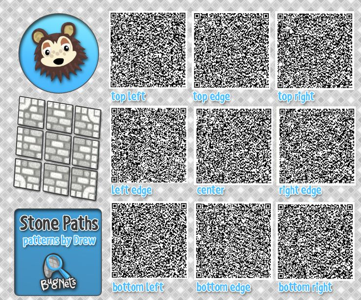 17 best images about animal crossing on pinterest animal for Floor qr codes new leaf