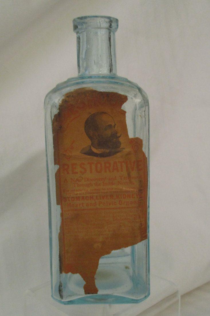 Medical Curiosity, Restorative, Vintage Dr. Shoop's Family Medicines Bottle by KitchyKeyte on Etsy
