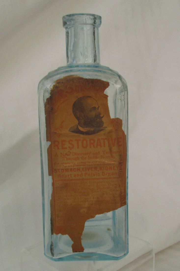 Medical Curiosity, Restorative, Vintage Dr. Shoop's Family Medicines Bottle by KitchyKeyte on Etsy