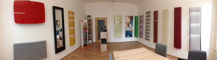 Showroom of designer radiators HOTHOT,  Smetanova 17, 602 00 Brno CZ
